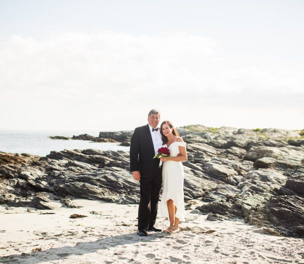 Photo of Cliff and Liza wedding on beach