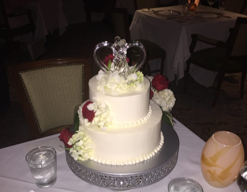 Picture of Cliff and Liz's Wedding Cake