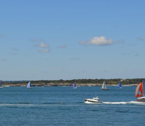 Photo of Sailboats for Hope sailing through