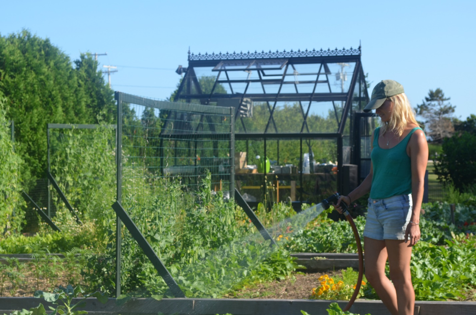 Greenhouse at Castle Hill with Horticulturist Leita Lord