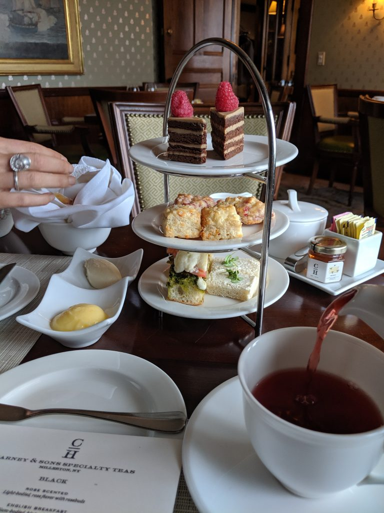 Tea Service at Castle Hill Inn